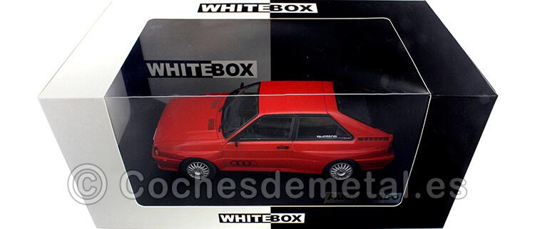 1980 Audi Quattro Rojo 1:24 WhiteBox 124064