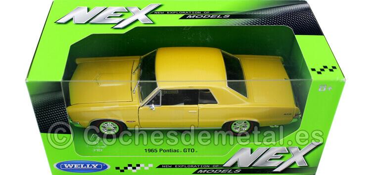 1965 Pontiac GTO Metallic Gold 1:24 Welly 22092