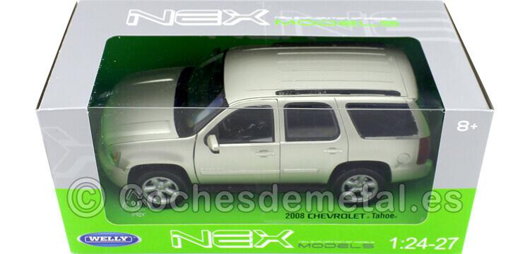 2008 Chevrolet Tahoe Metallic Gold 1:24 Welly 22509