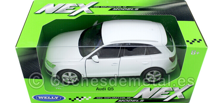 2009 Audi Q5 Blanco 1:24 Welly 22518