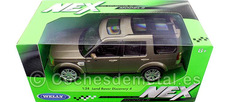 2010 Land Rover Discovery 4 Marron Metalizado 1:24 Welly 24008