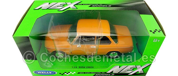 1973 BMW 2002 Ti Naranja 1:24 Welly 24053