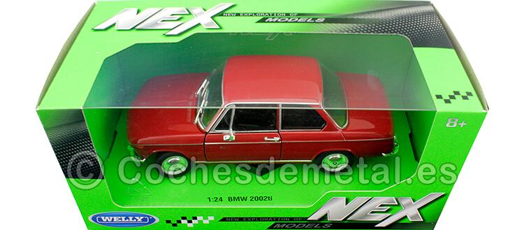 1973 BMW 2002 Ti Rojo 1:24 Welly 24053
