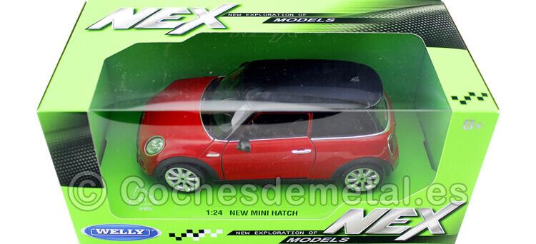 2014 Audi TT (8S) Rojo Cereza 1:24 Welly 24057