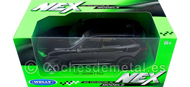 2016 Jaguar F-Pace Negro 1:24 Welly 24070