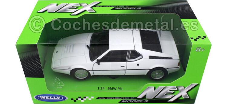 1987 BMW M1 Blanco 1:24 Welly 24098
